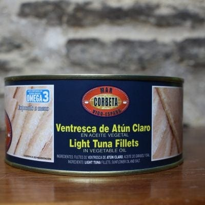 ventresca de atun etiqueta